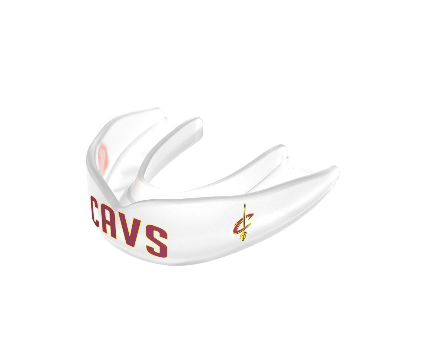 Shock Doctor Adult Cleveland Cavaliers Strapless Basketball Mouth Guard