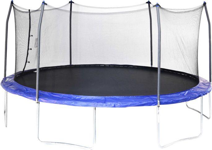 Skywalker Trampolines 17' Oval Trampoline with Enclosure