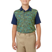 Slazenger Boys' Camo Stripe Printed Golf Polo