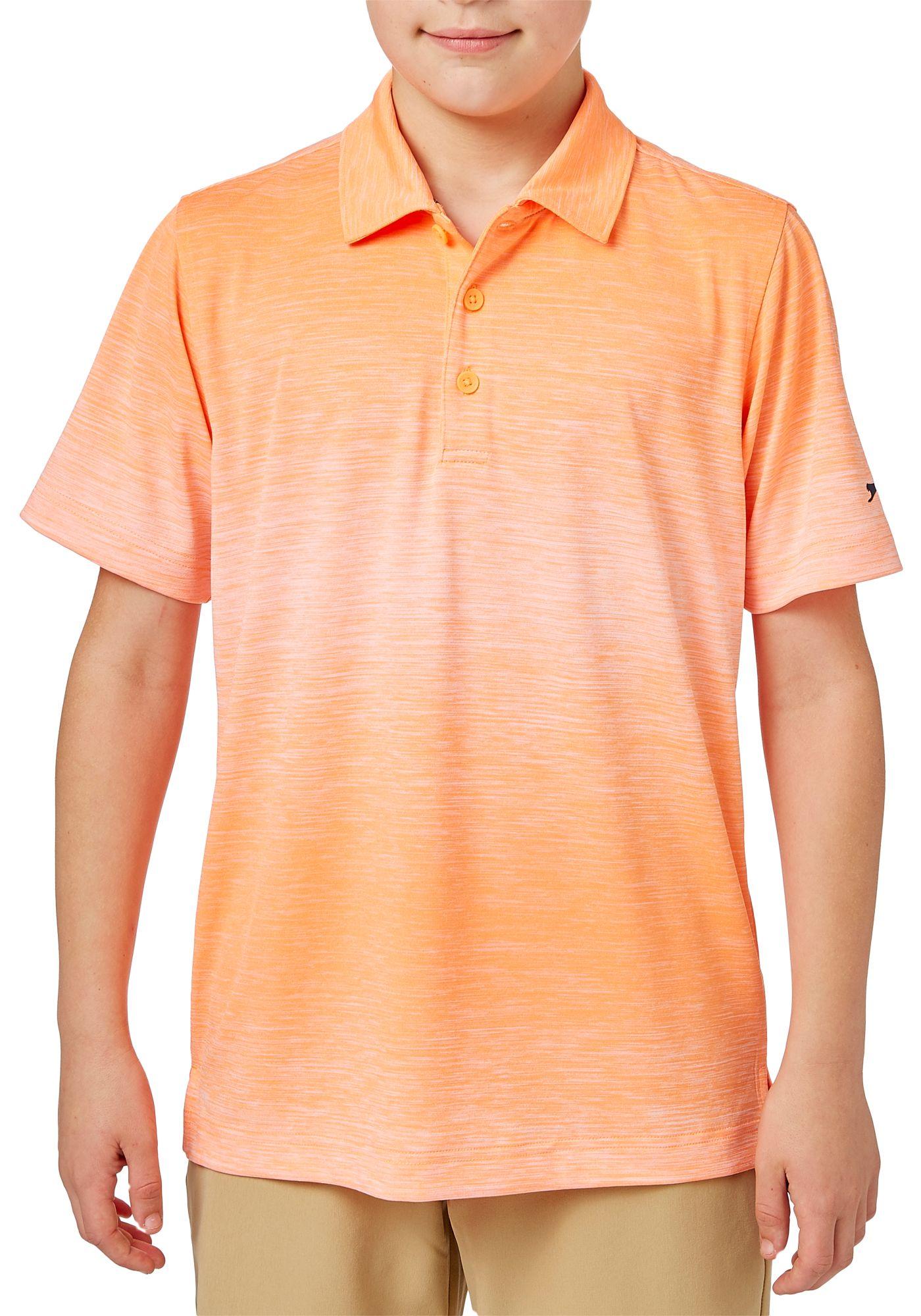 Slazenger Boys' Core Ombre Heather Golf Polo
