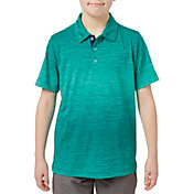 Slazenger Boys' Core Ombre Heather Golf Polo