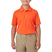 Slazenger Boys' Textured Solid Golf Polo