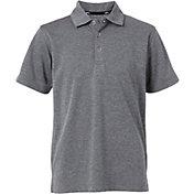 Slazenger Boys' Textured Solid Golf Polo