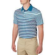 Slazenger Men's Mineral Spliced Stripe Golf Polo