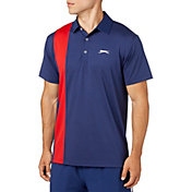 Slazenger Men's Sport Stripe Tennis Polo