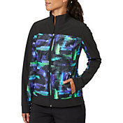 38720ed1daf Product Image Slazenger Women's City Lights Collection Printed Mesh Jacket