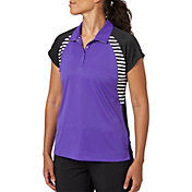 Slazenger Women's City Lights Collection Raglan Stripe Golf Polo