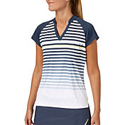 Slazenger Women's Grey Matter Collection Cap Sleeve Golf Polo