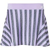 Slazenger Women's Striped Flounce Tennis Skort