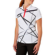 Slazenger Women's Structure Collection Printed Golf Polo