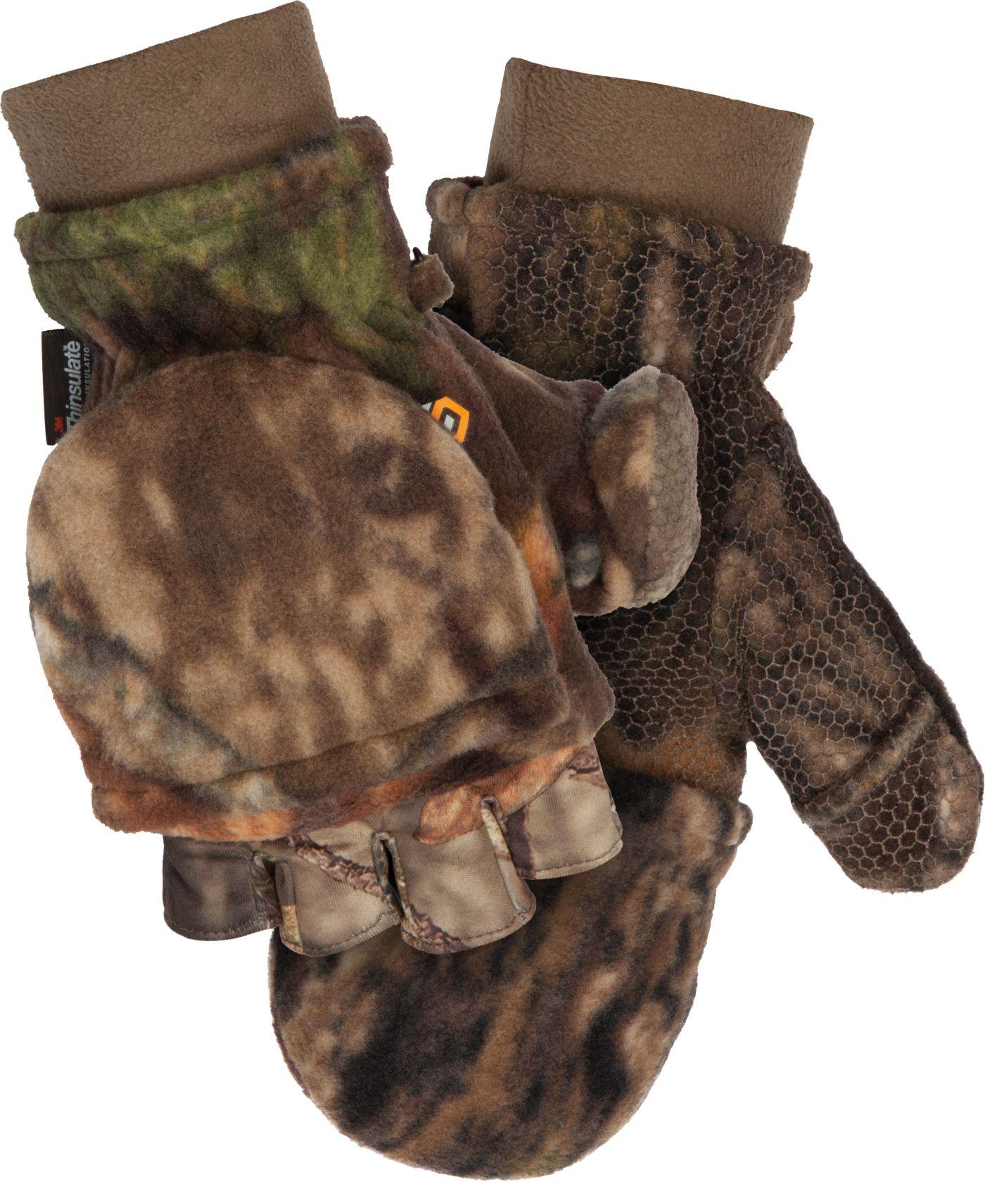 ScentLok Men's Fleece Pop-Top Gloves