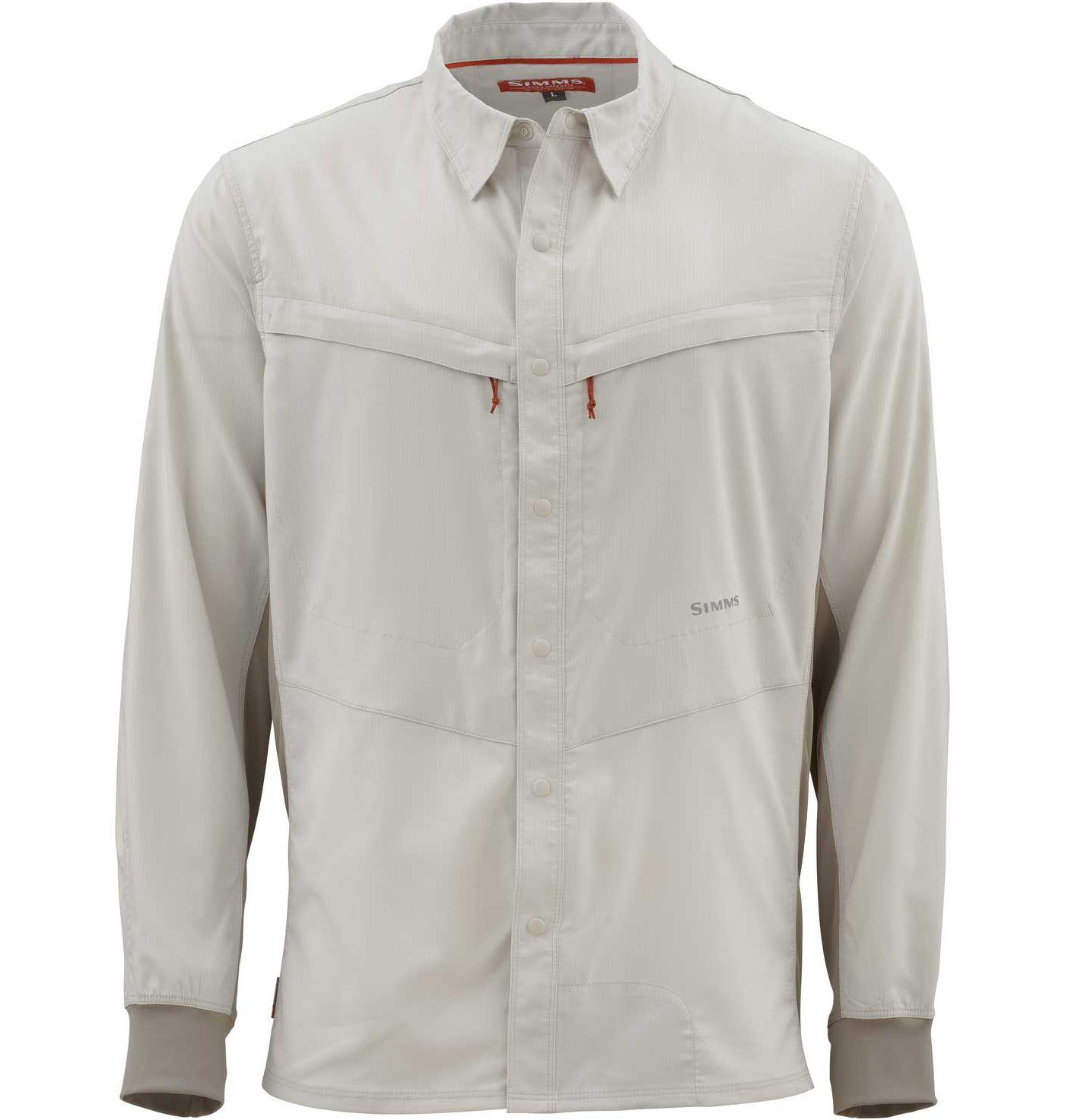 Simms Men's Intruder BiComp Long Sleeve Shirt