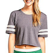 Soffe Juniors' Squad Mesh Cropped T-Shirt