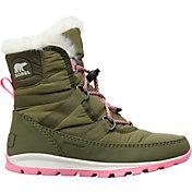 SOREL Kids' Whitney Short Lace 200g Waterproof Winter Boots