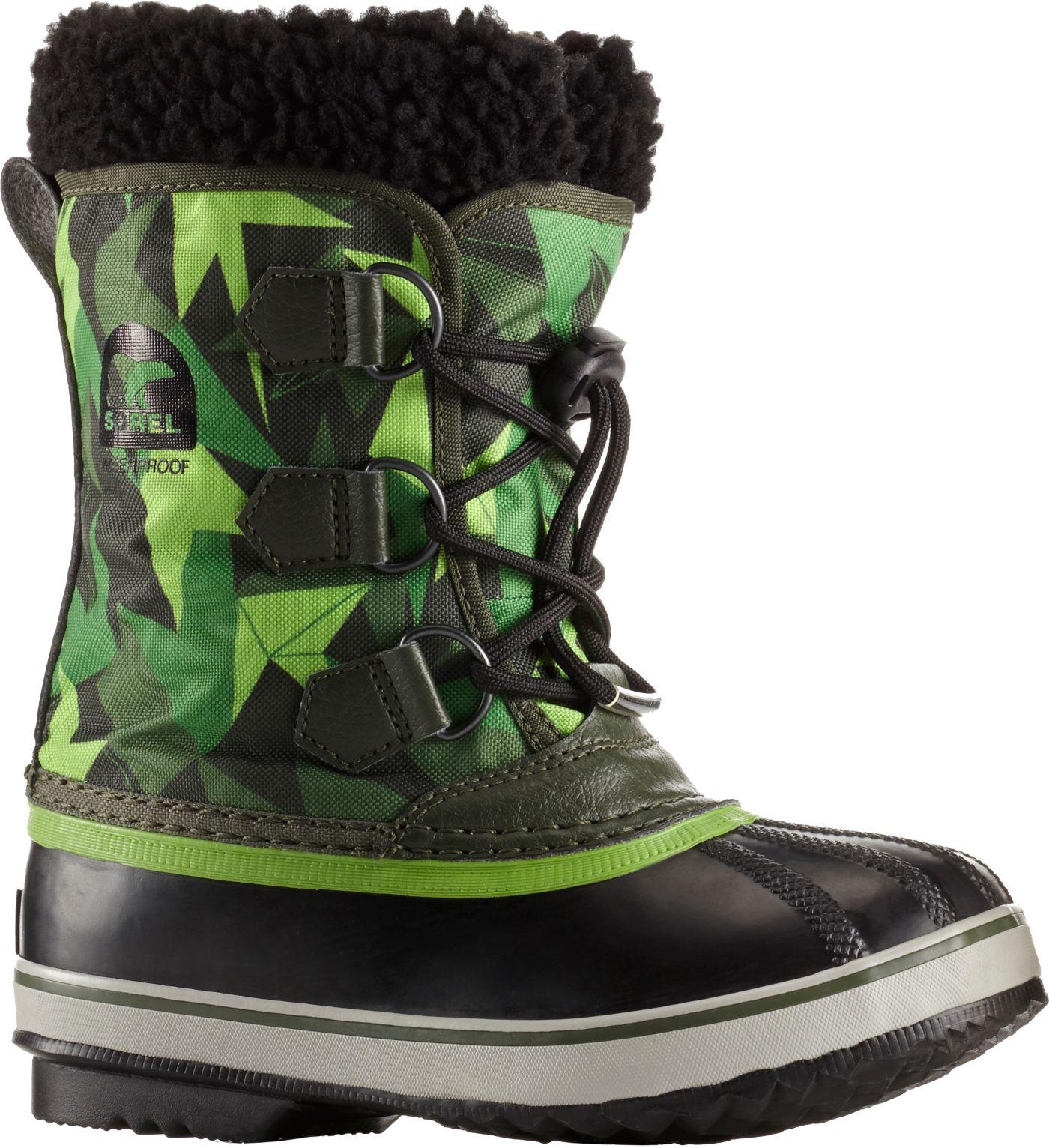 SOREL Kids' Yoot Pac Waterproof Winter Boots