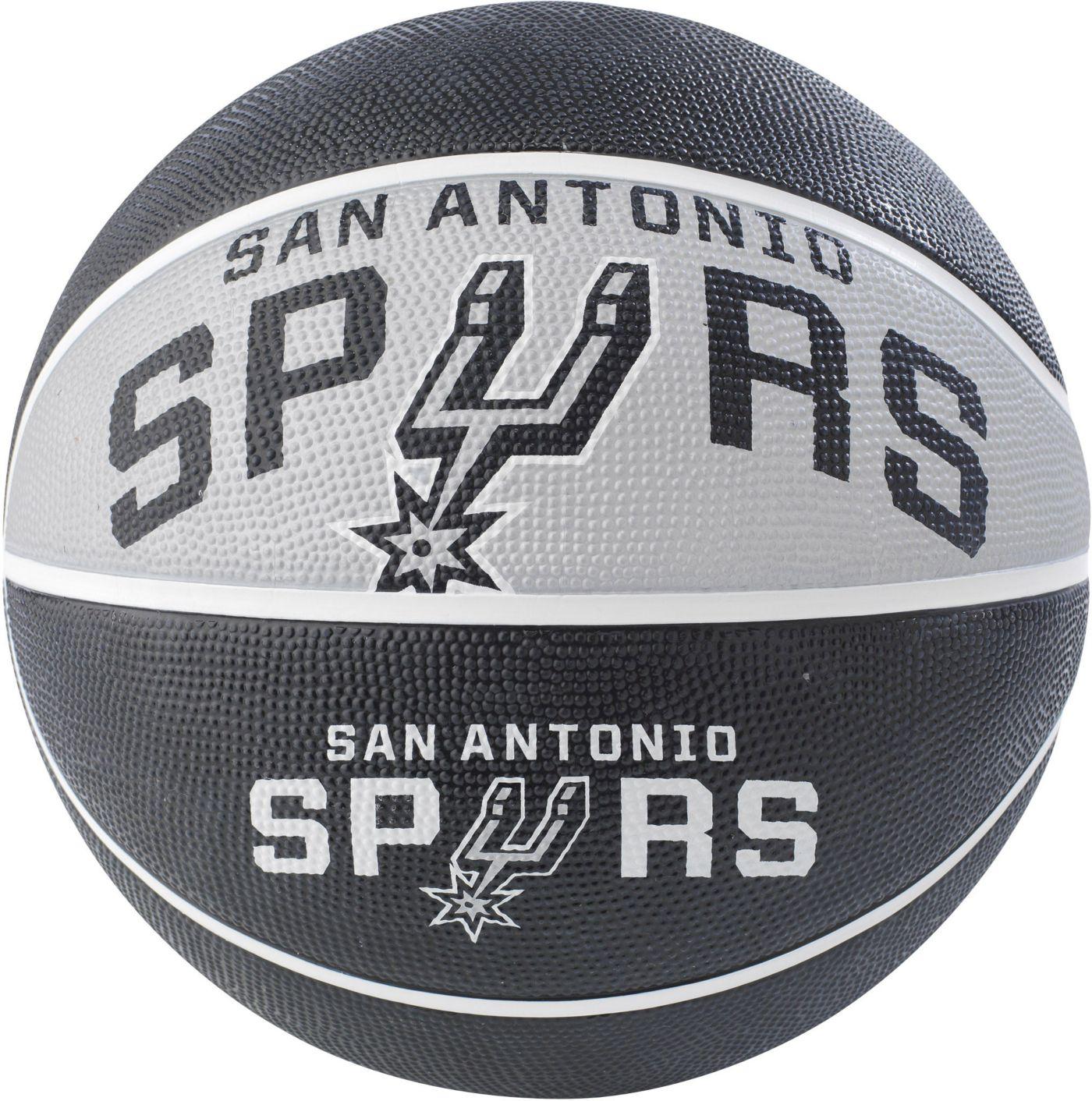 Spalding San Antonio Spurs Full-Sized Court Side Basketball
