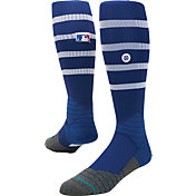 Stance MLB Diamond Pro On-Field Striped Royal Tube Sock