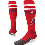 Stance Los Angeles Angels Diamond Pro Red Socks