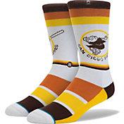Stance San Diego Padres Swing Friar Socks