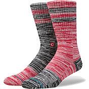 Stance Cincinnati Reds Greystone Socks