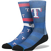 Stance Texas Rangers Splatter Mix Socks