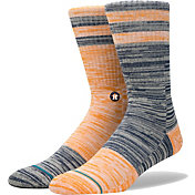 Stance Houston Astros Greystone Socks