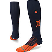 Stance Detroit Tigers Diamond Pro Navy/Orange Socks