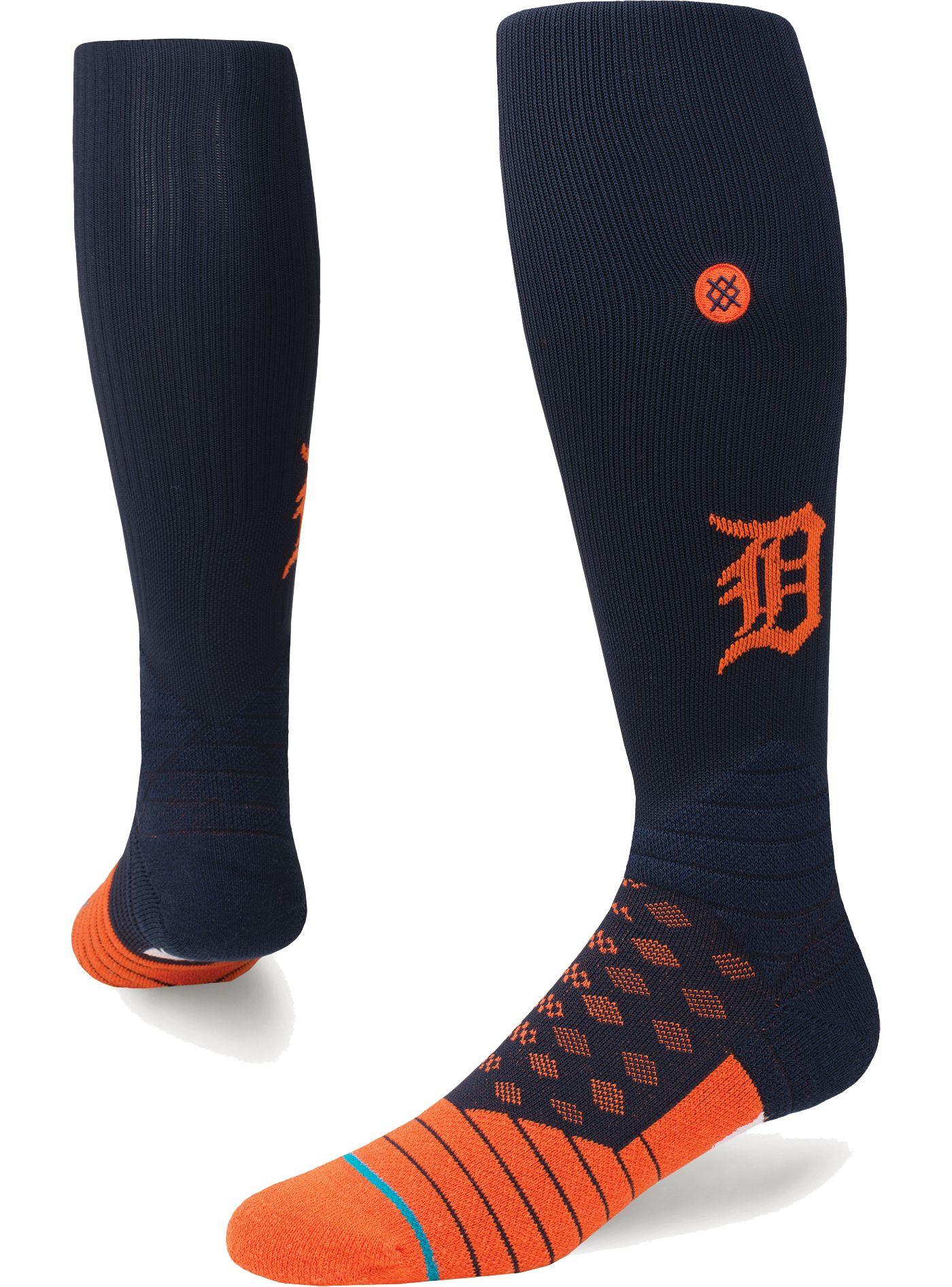 Stance Detroit Tigers Diamond Pro Navy/Orange Socks
