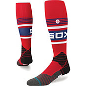 Stance Chicago White Sox Diamond Pro Throwback Red Socks