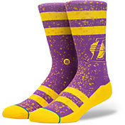 Stance Los Angeles Lakers Overspray Crew Socks