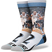 Stance Men's Minnesota Timberwolves Andrew Wiggins Legends Crew Socks