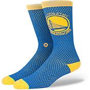 Stance Men's Golden State Warriors Jersey Crew Socks