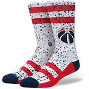 Stance Washington Wizards Overspray Crew Socks