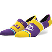 Stance LSU Tigers No Show Socks