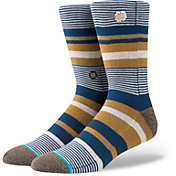 Stance Men's Notre Dame Fighting Irish Dress Crew Socks