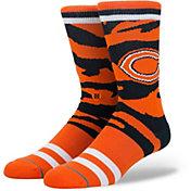 Stance Chicago Bears Tiger Stripe Crew Socks
