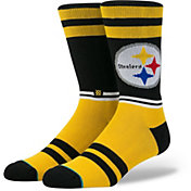 Stance Men's Pittsburgh Steelers Sideline Crew Socks