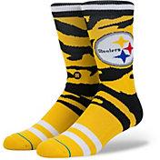 Stance Pittsburgh Steelers Tiger Stripe Crew Socks