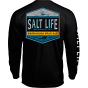 Salt Life Men's Beeracuda Long Sleeve Shirt