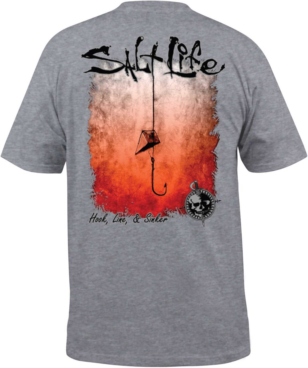 8aceb317bff9 Salt Life Men's Hook Line and Sinker Fade T-Shirt | DICK'S Sporting ...