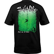 Salt Life Men's Hook Line and Sinker Fade T-Shirt