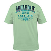 Salt Life Men's Aquaholic Icons T-Shirt