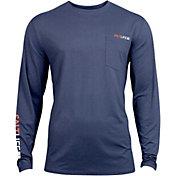 Salt Life Men's Vapor Scales Long Sleeve Performance Shirt