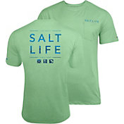 Salt Life Men's Water Icons SLX UVapor Performance T-Shirt
