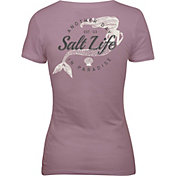Salt Life Women's Mermaid Paradise Short Sleeve T-Shirt