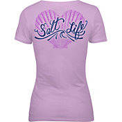 Salt Life Women's Seashell Love V-Neck T-Shirt