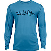 Salt Life Boys' Signature SLX UVapor Performance Long Sleeve Shirt