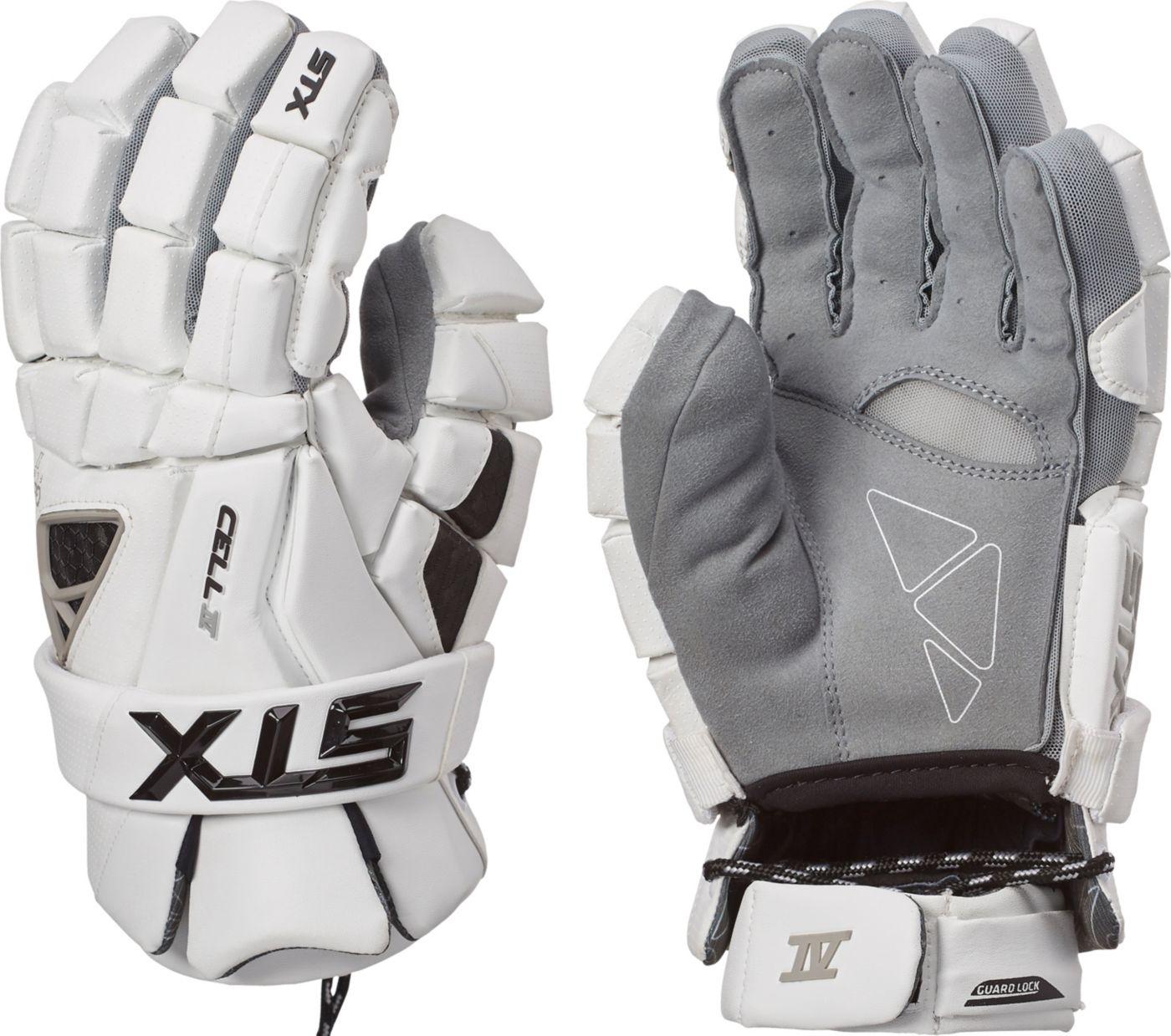 STX Men's Cell IV Lacrosse Gloves