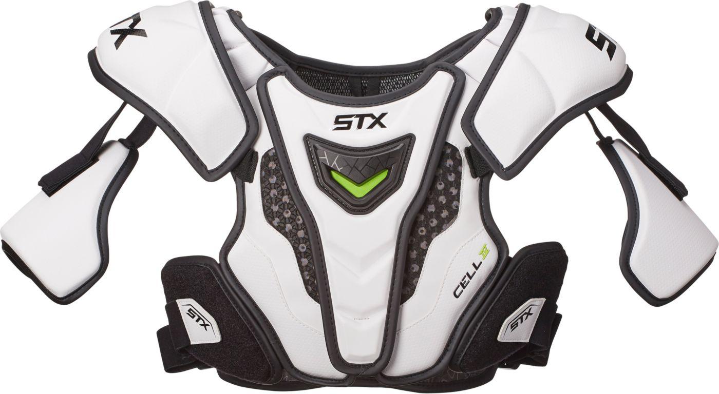 STX Men's Cell IV Lacrosse Shoulder Pads