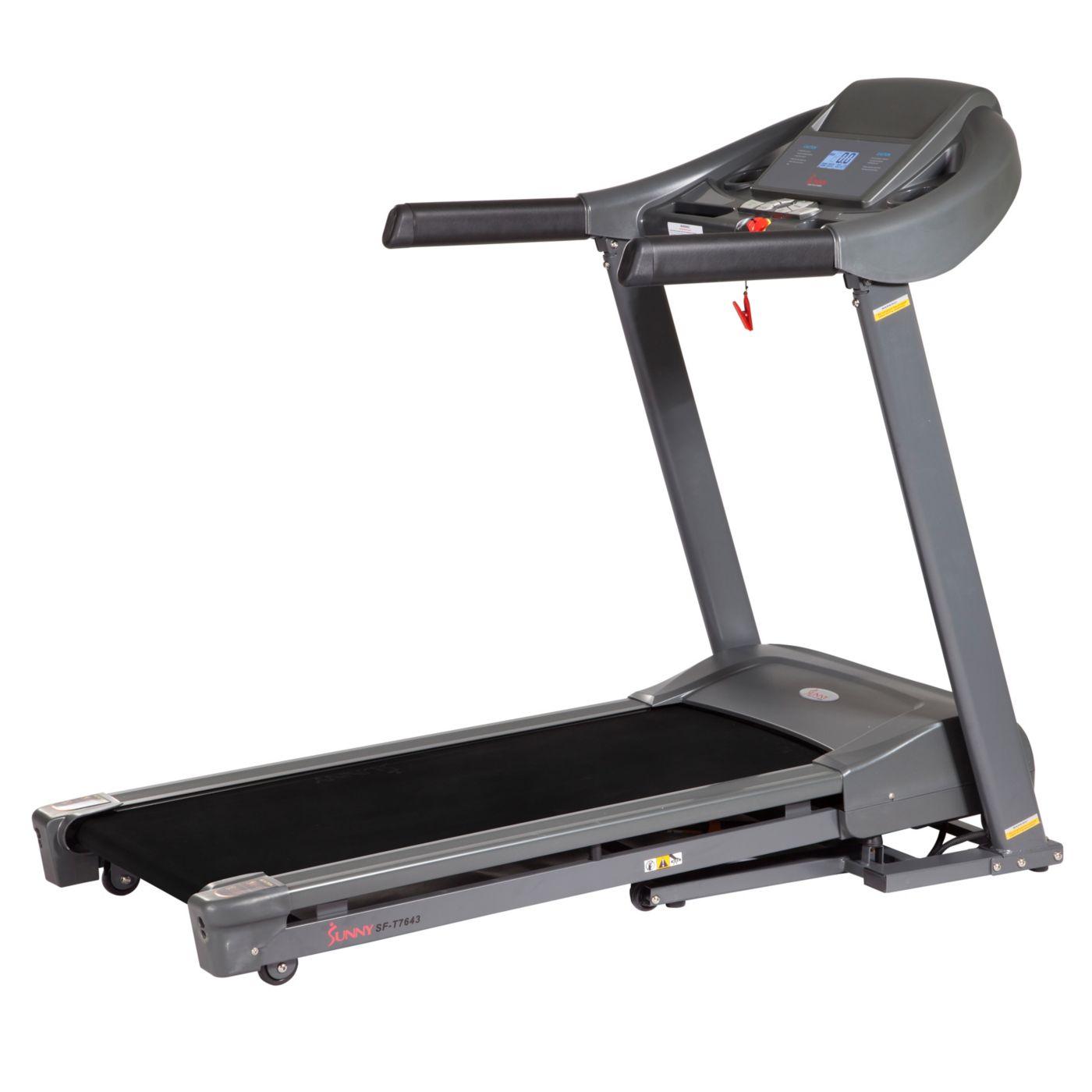 Sunny Health & Fitness SF-T7643 Heavy-Duty Walking Treadmill